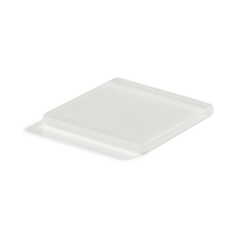 coaster square white Nacryl Mealplak ...  sc 1 st  Revol Porcelain & Coaster square white made of culinary nacryl u2013 MEALPLAK