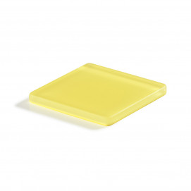 coaster square lemon Nacryl Mealplak
