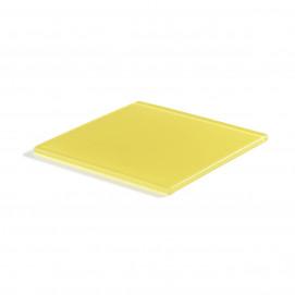 square trays lemon Nacryl 2 sizes Mealplak