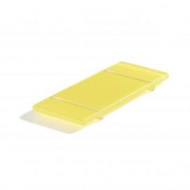 footed tray lemon Nacryl Mealplak
