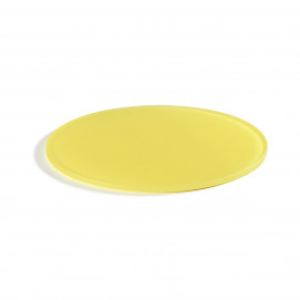 round 11.75inch tray lemon Nacryl Mealplak