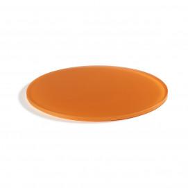 round 11.75inch tray mandarin Nacryl Mealplak