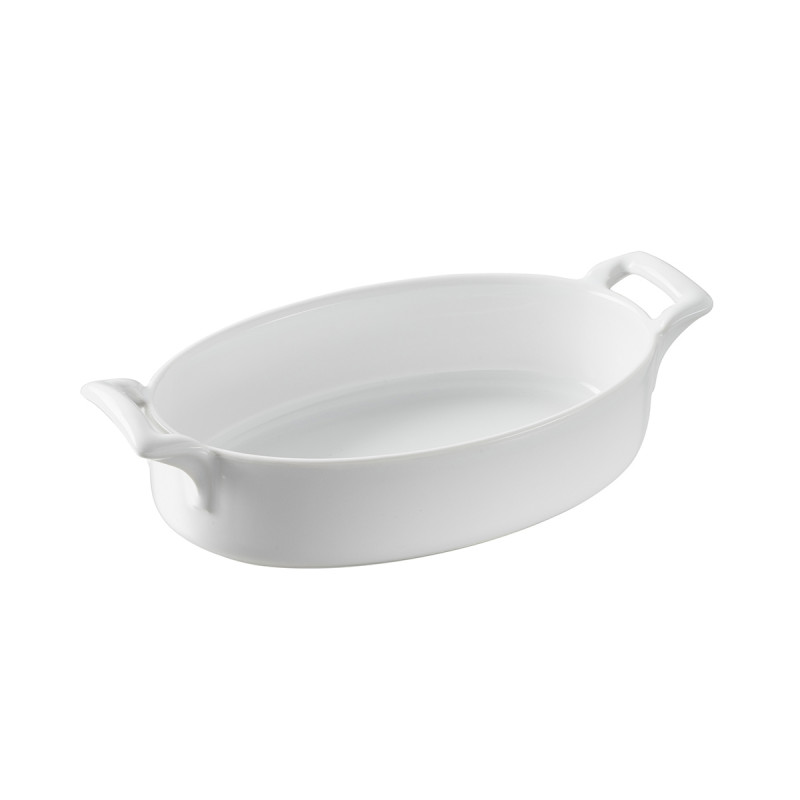 Deep Oval Baking Dish Belle Cuisine White Or Black By