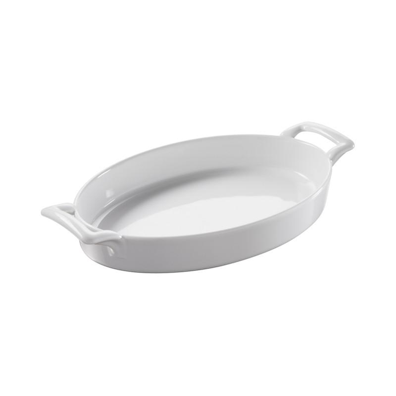 Porcelain Shallow Oval Baking Dish Belle Cuisine By Revol