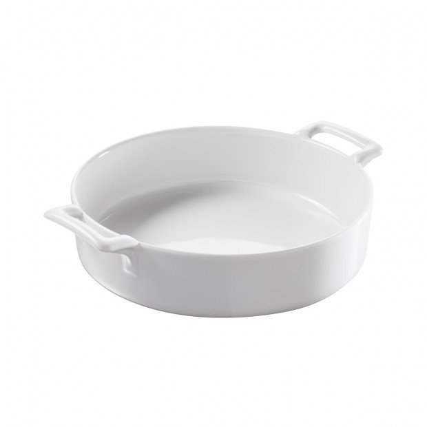 Belle Cuisine White Round Baking Dish Revol