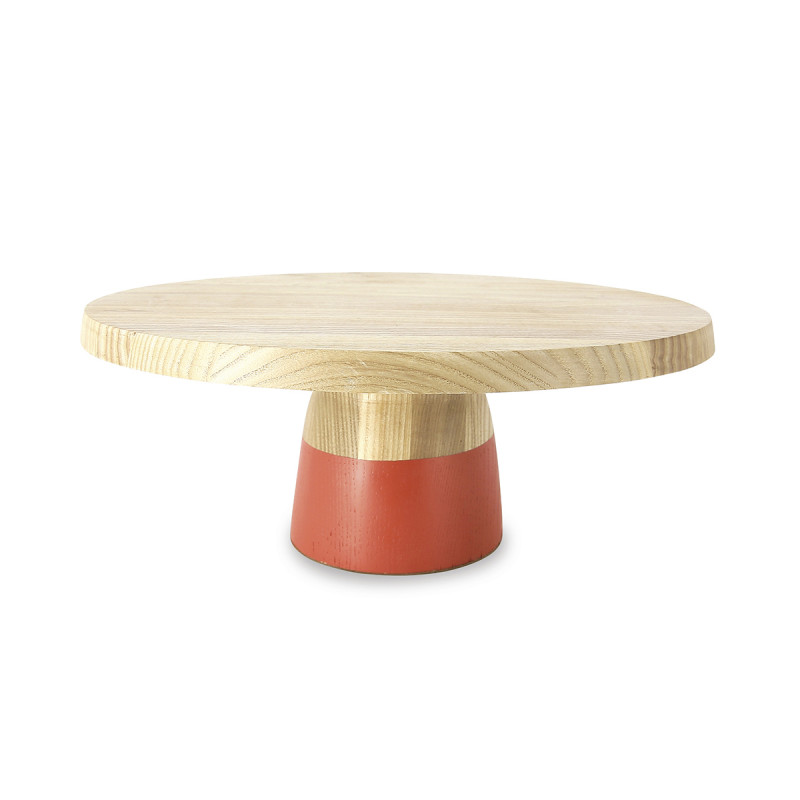 Cake Stand With Dome Set