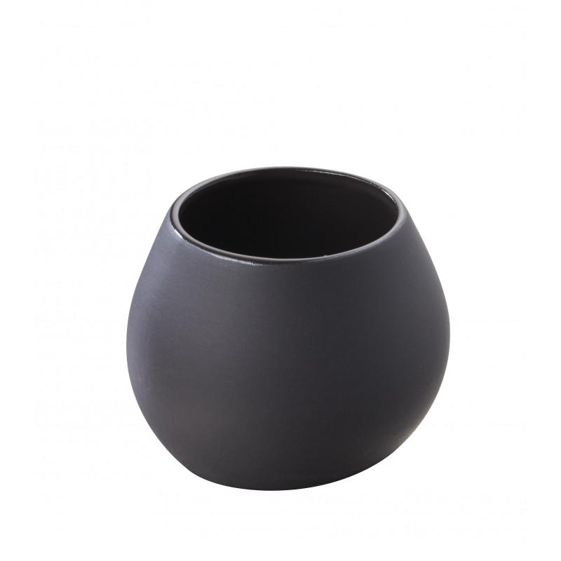 Small Serveware Black Or White Pot Likid