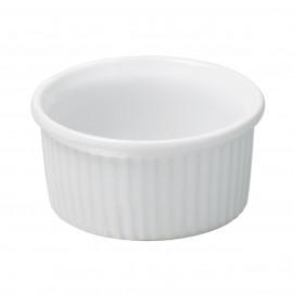White ramekin 2 sizes white porcelain French classic
