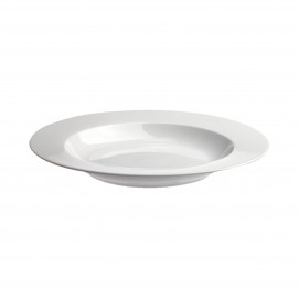 9inch soup plate white porcelain