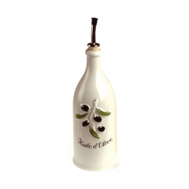 French Classics cream large provence olive-oil bottle