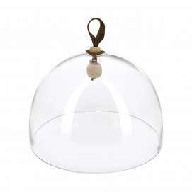 Glass dome ø10.75 for cheese and charcuterie