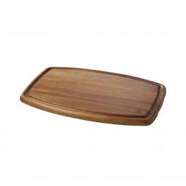 Inspired by Revol large acacia wood tray