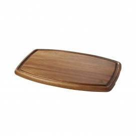 large acacia wood tray