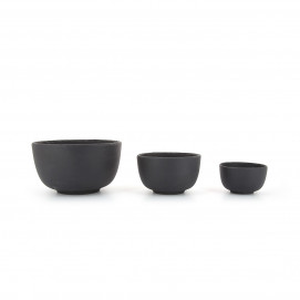 Basalt small bowls 3 sizes