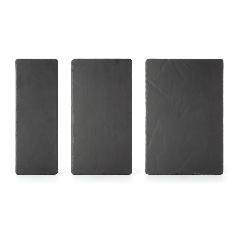 Rectangular Slate Sone Look Appetizer Plates