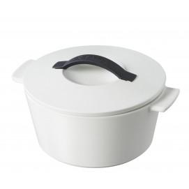 Revolution giftbox round dutch oven - induction, satin white