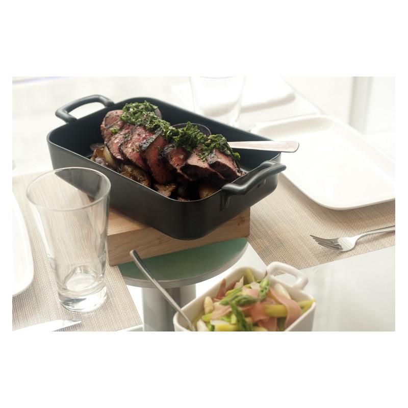 Belle cuisine black rectangular baking dish revol - Photo belle cuisine ...
