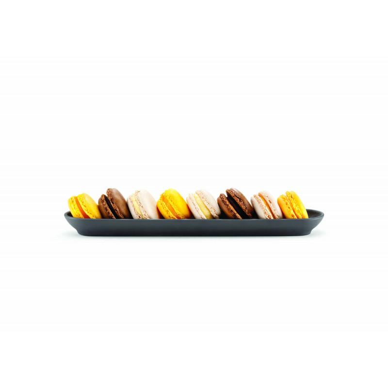 Slate Stone Look Serving Baguette For Nibbles Basalt