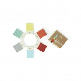 Color Lab trivet kit, knife rests