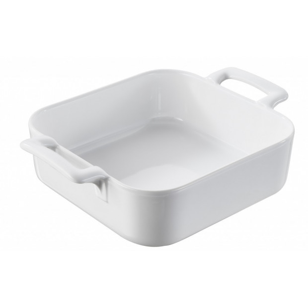 Belle Cuisine White Porcelain Square Baking Dish Revol In