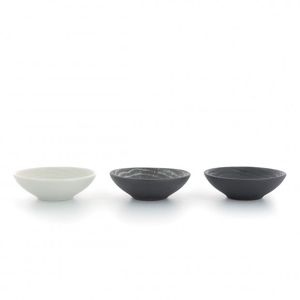 Arborescence Imitation Wood Porcelain Mini Bowl