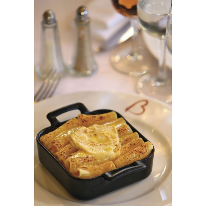 Belle cuisine black square baking dish revol 3 sizes for Revol belle cuisine