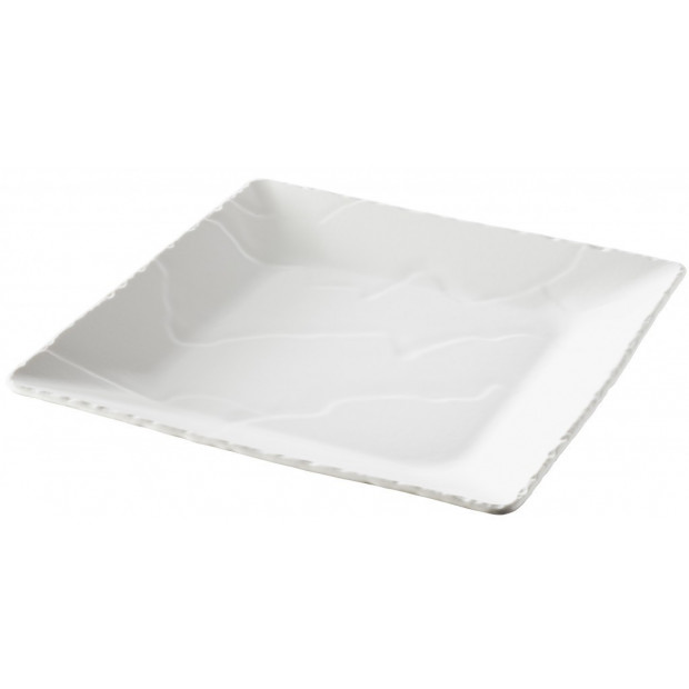 Basalt square plate deep 2 colors  sc 1 st  Revol Porcelain & deep plate Basalt pearly white by REVOL
