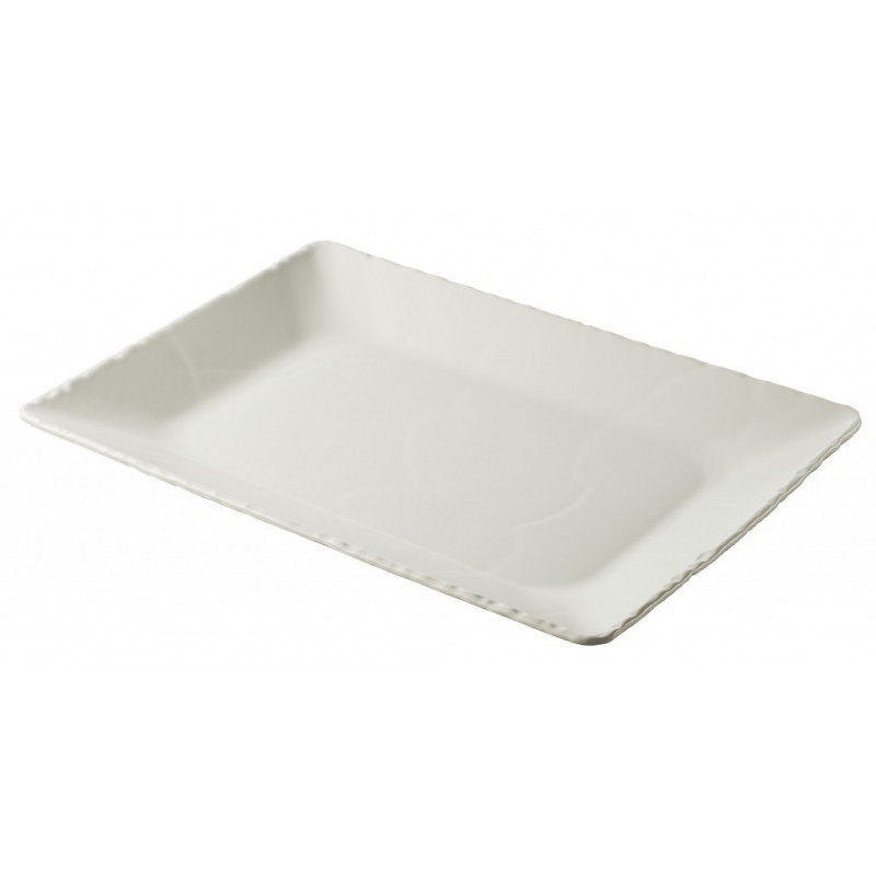 Basalt rectangular plate deep 2 colors ...  sc 1 st  Revol Porcelain & rectangular deep plate Basalt pearly white
