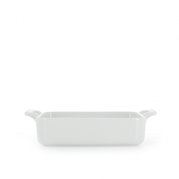 Belle cuisine white rectangular baker