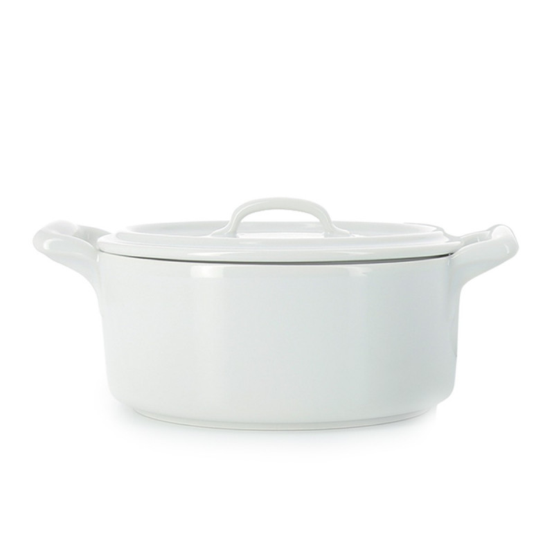 Belle Cuisine White Oval Casseroles By Revol Covered
