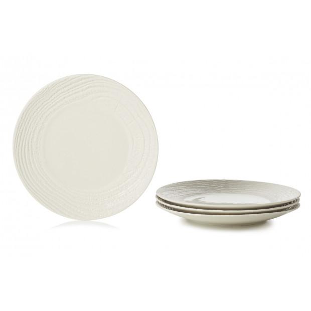 set of 4 arborescence dessert plate 3 colors  sc 1 st  Revol Porcelain & Set of 4 porcelain dessert plates 3 colors. Made of porcelain. REVOL