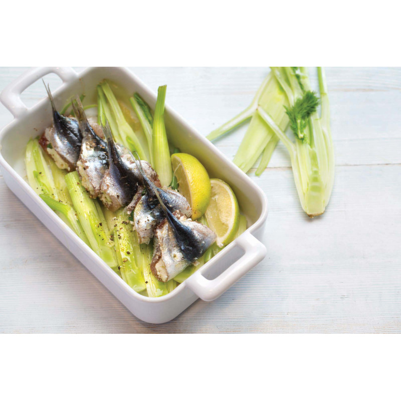 Belle cuisine white rectangular baking dish revol for Belle cuisine