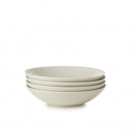 set of 4 arborescence coupe plate 7.5inch 3 colors
