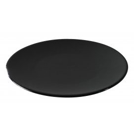 bread plate black and glossy black