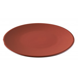 bread plate black and red