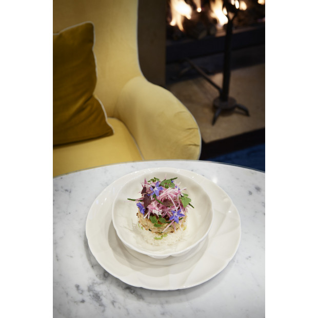 set of 4 succession dinner plates ø10.25