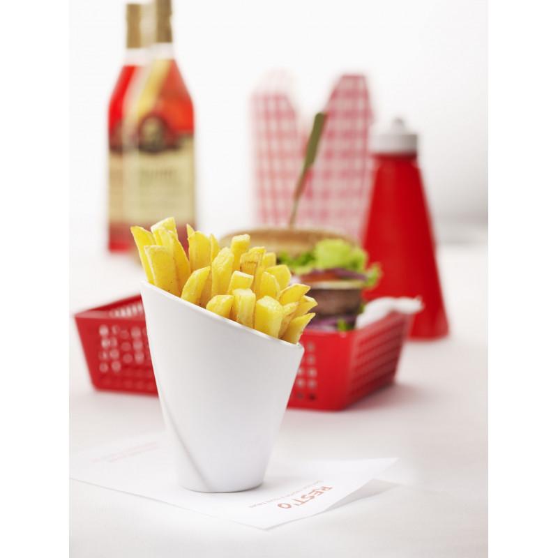 White Glaze Pasta Serving Bowl French Classique