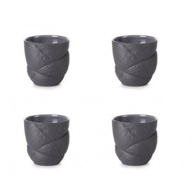 set of 4 succession espresso cups 2 colors