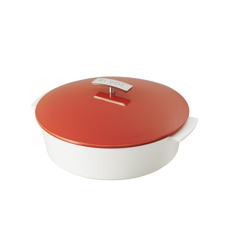 Steel Cake Pan With Lid