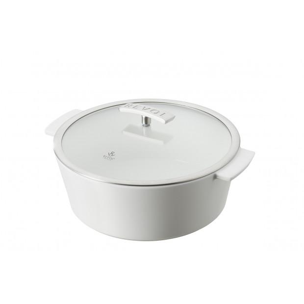 Revolution round dutch oven -lass lid
