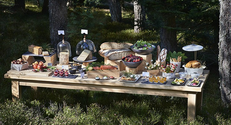 nature fusion buffet by revol porcelain
