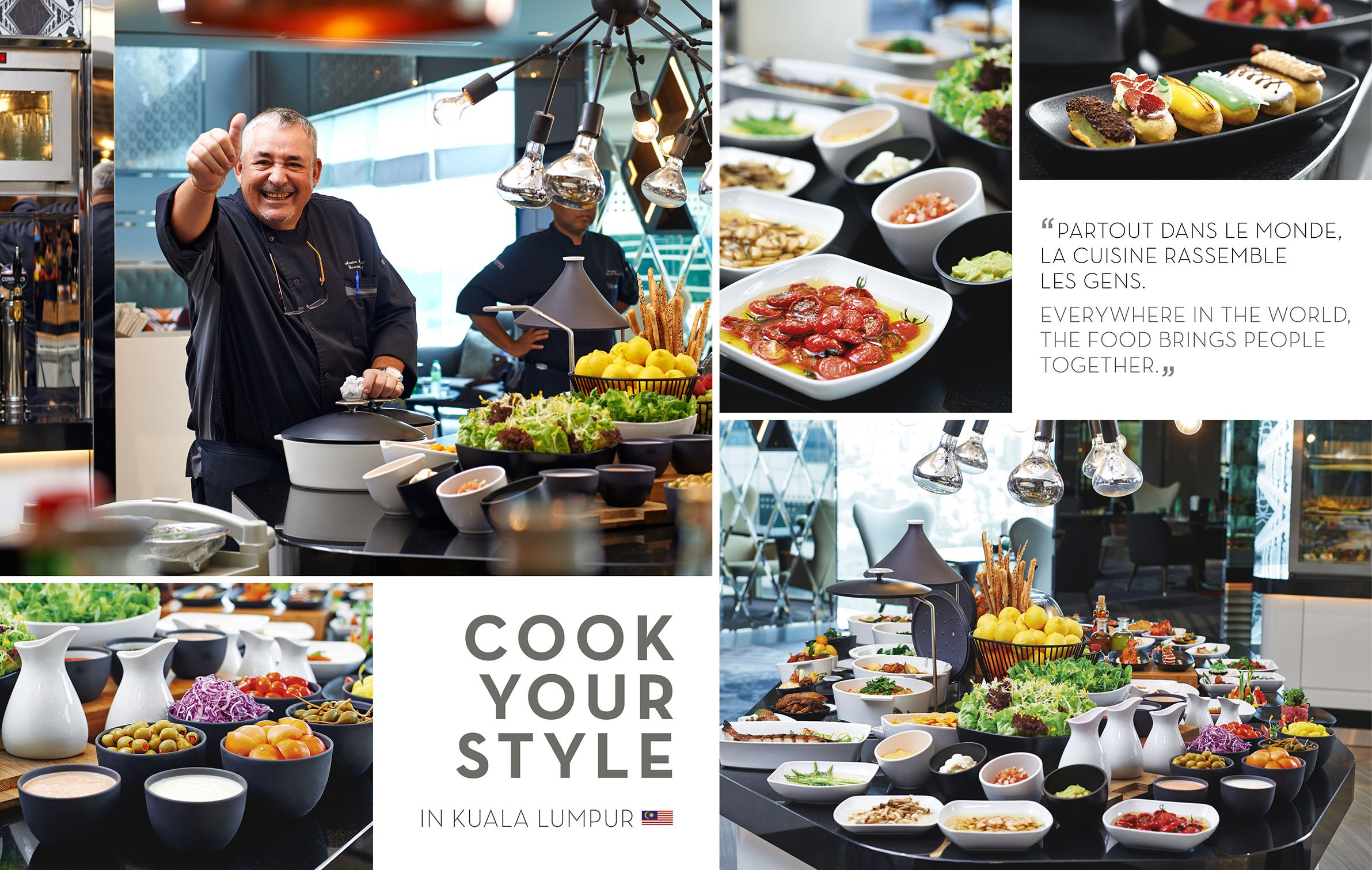 cook your style in Kuala Lumpur - Le Meridien