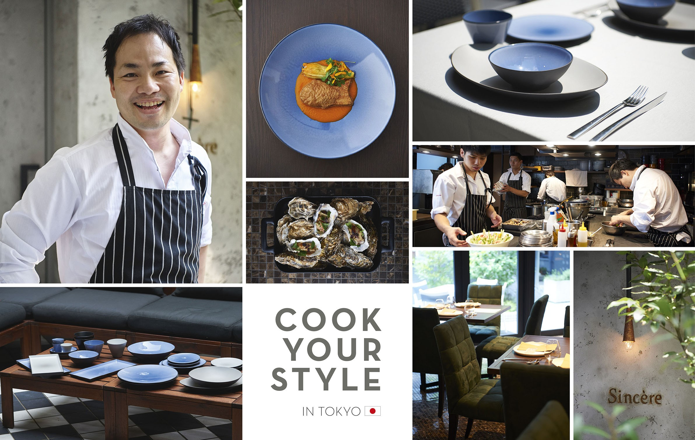 cook your style in tokyo - sincere