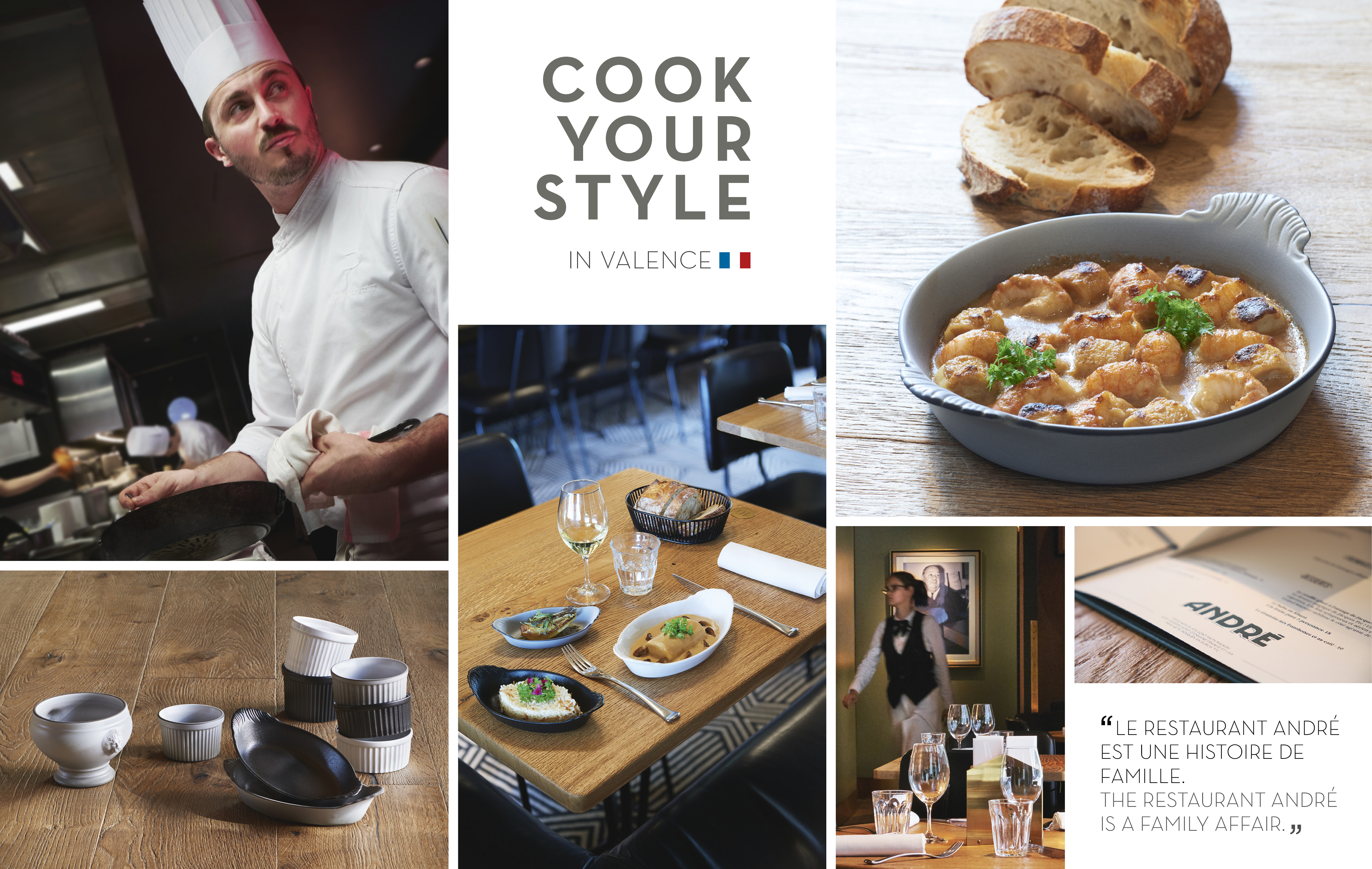 cook your style in Valence - André