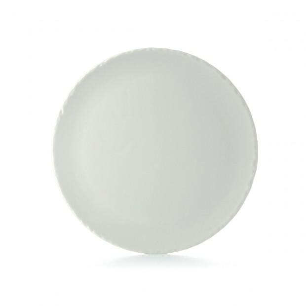 Ceramic pizza plate with slate effect  sc 1 st  Revol Porcelain & Round ceramic plate with slate effect - White