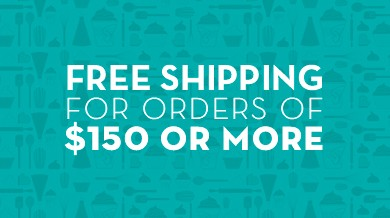 FREE SHIPPING FOR ORDRES OVER $150